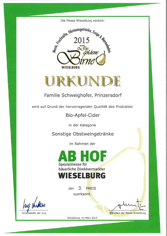 Schweighofer_Urkunden%202015_150317%203